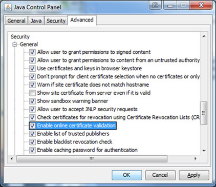 java-control-panel